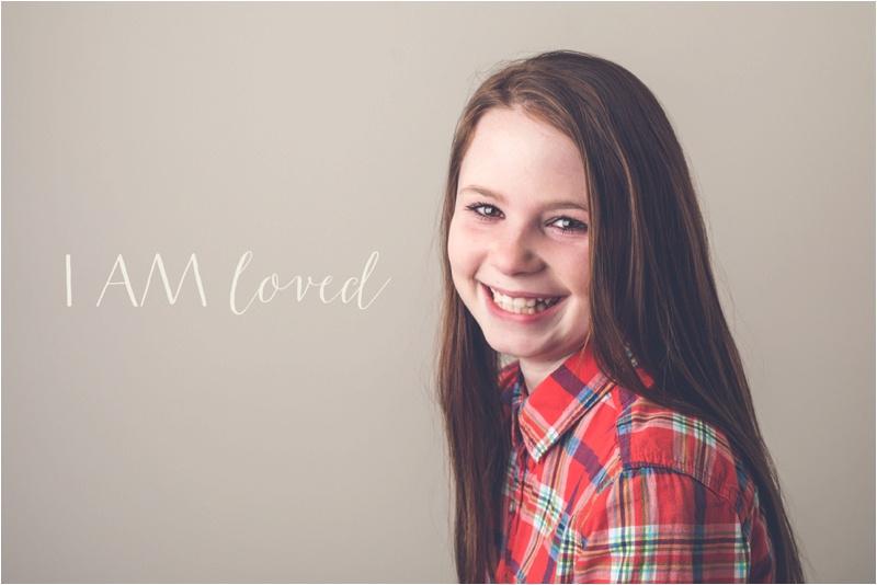 I AM Portrait Project, Saint Joseph MO Tween photographer, Saint Joseph MO Photographer
