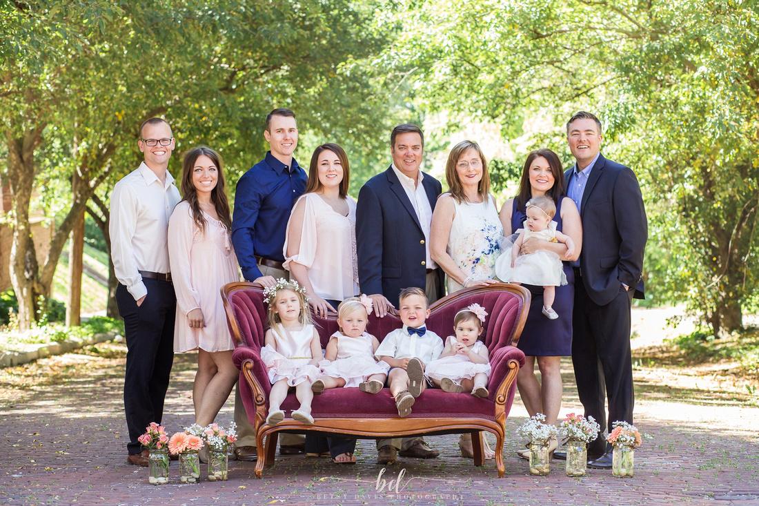 Saint Joseph Mo extended family session