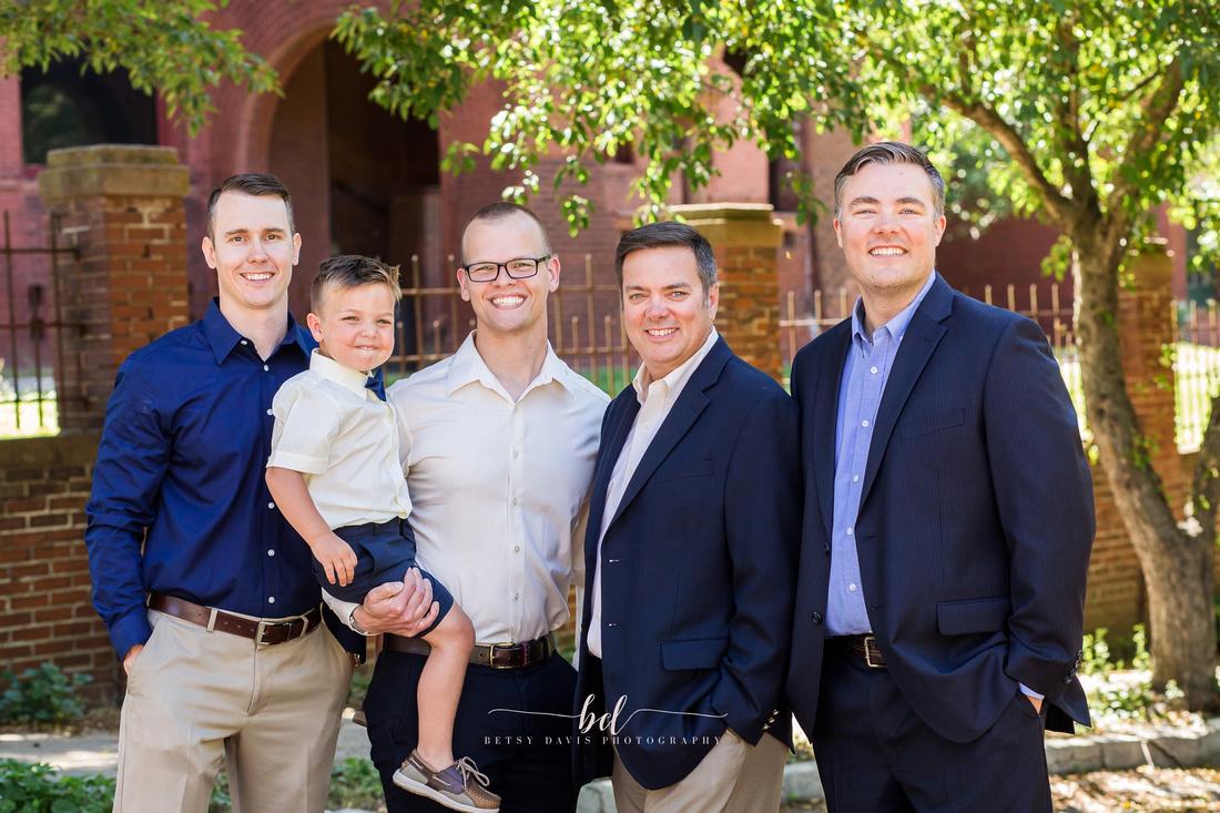 Saint Joseph Mo downtown family photos