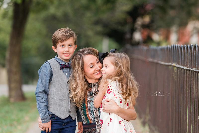downtown saint joseph mo family photos