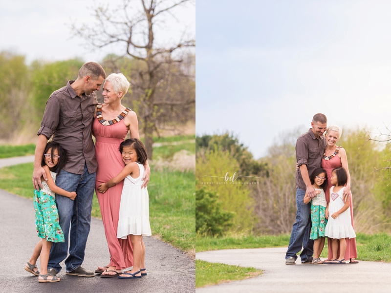 Saint Joseph MO family photographer youngdahl conservation area