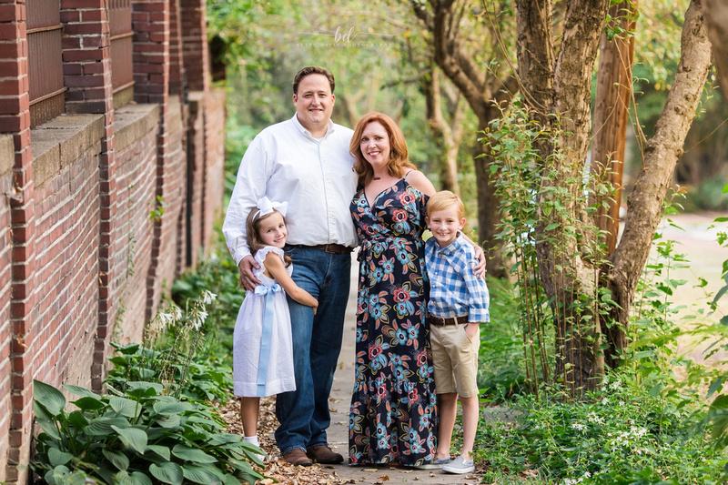 Saint Joseph MO Family Photographer, Family Photos Downtown St. Joseph MO