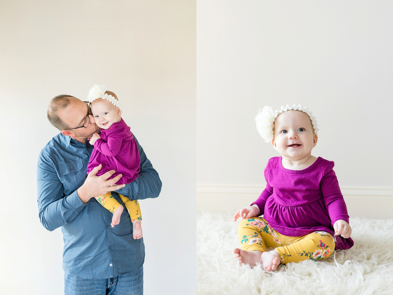 Saint Joseph MO photographer 6 month session